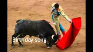 Happy birthday song - Type Here