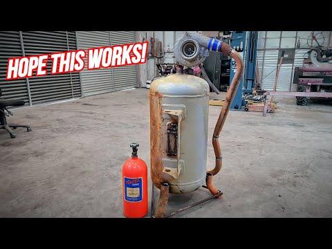 Building A TURBO JET / Burn Barrel