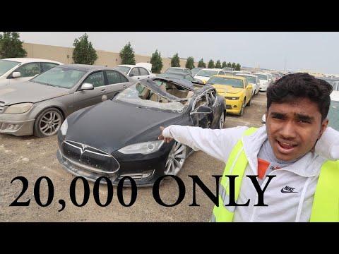 BUYING A CRASHED TESLA IN DUBAI