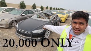 BUYING A CRASHED TESLA IN DUBAI