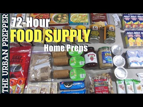 72 Hour Food Supply (Home Preps) by TheUrbanPrepper