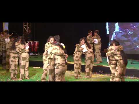 Tribute To Indian Army FEST-DE NEWLOOK 18th DEC 2016