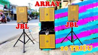 JBL Array 1321 ✅ - Dàn loa karaoke di dộng cao cấp | Loa Array Gấp Bass Đôi 40 và 1 cặp full đôi 30
