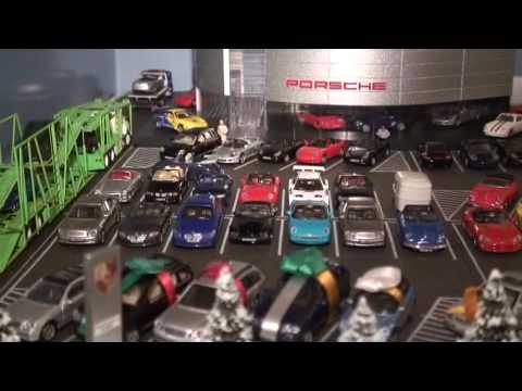 Porsche Dealership Diorama Presented By Auto Racing