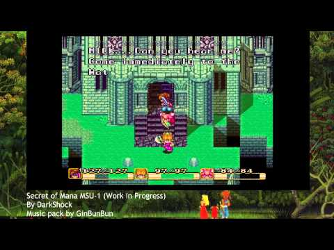 Secret of Mana MSU-1 WIP #1 playthrough