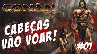 Conan #01 - Cabeças vão Voar! - PS3 Gameplay