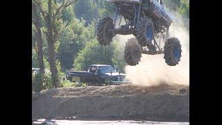 Sail Mega Truck FreeStyle Trucks Gone Wild Maximum Power Park Poland NY