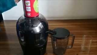How to Clean Philips Juicer HR1855   Philips Quick Clean Juicer Review by Happy Pumpkins