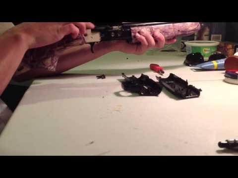 Crosman 760 air rifle easy power mod   FunnyDog TV