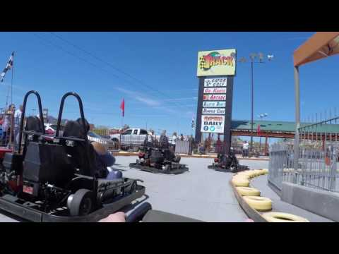 Go Karts, The Track, Pigeon Forge, Tennessee