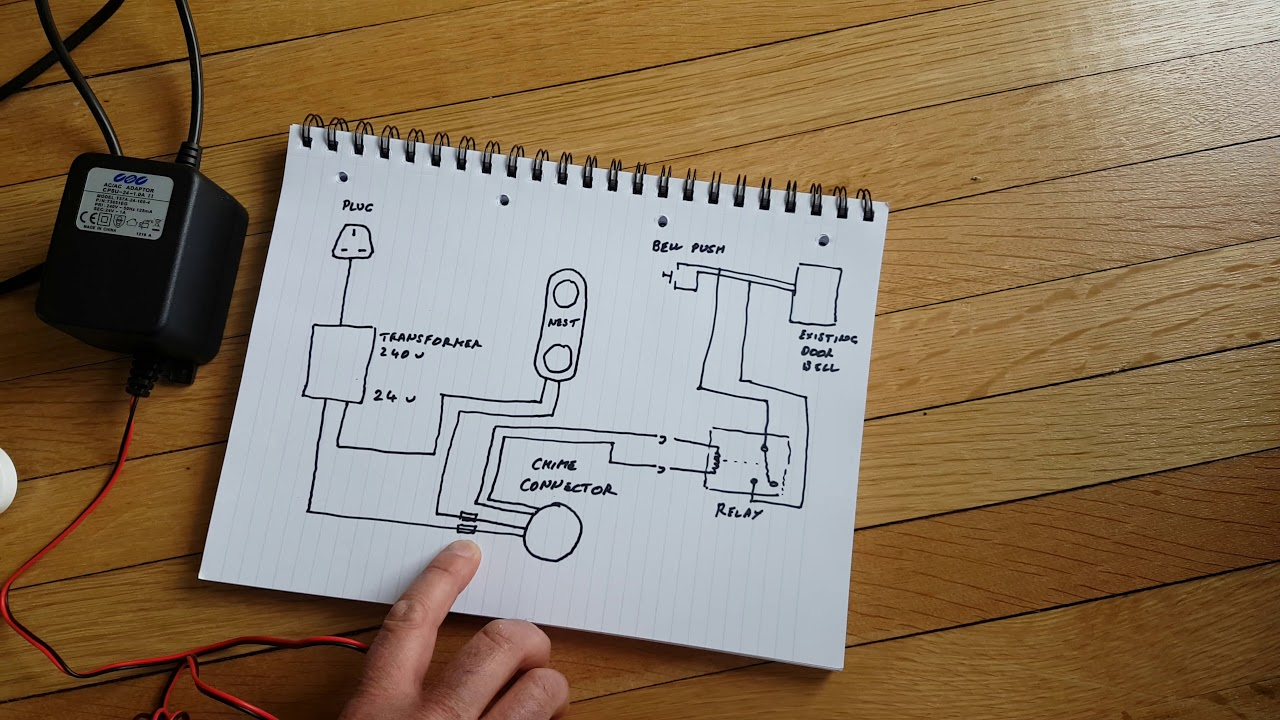 Nest Hello Advanced Wiring Diagram  YouTube
