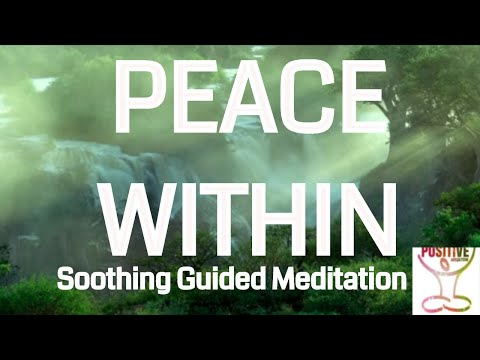 10 Minute Guided Meditation on Finding Peace Within l See Clearly Now l Positive Energy