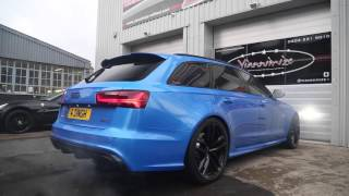 LOUDEST Audi RS6 Ever!?
