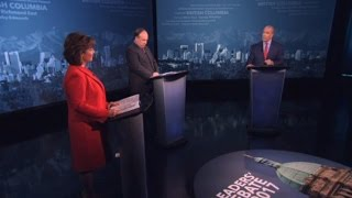 Televised Leaders' Debate -  2017 BC Provincial Election - 26 Apr 2017