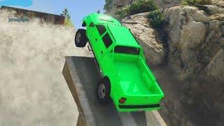 MADRE MIA COMO TREPA ESTO!!! - Gameplay GTA 5 Online Funny Moments (Carrera GTA V PS4)