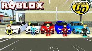 ROBLOX: Ultimate Driving Westover Islands-new cars, racing and changes on the map!!!