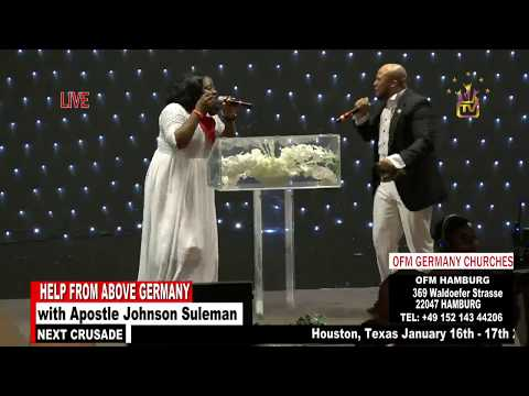 Help From Above Germany - Day 1 Evening Session (Apostle Johnson Suleman)