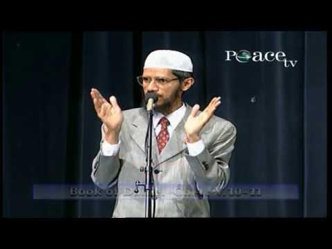 DEBATE : THE QUR'AN AND THE BIBLE IN THE LIGHT OF SCIENCE  TALK  REBUTTAL  Q & A  DR ZAKIR NAIK