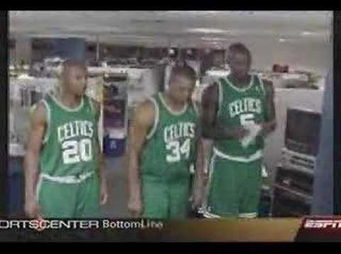 Celtics Three Amigos Sportscenter