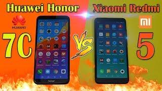 Huawei Honor 7C обзор - сравнение с Xiaomi Redmi 5
