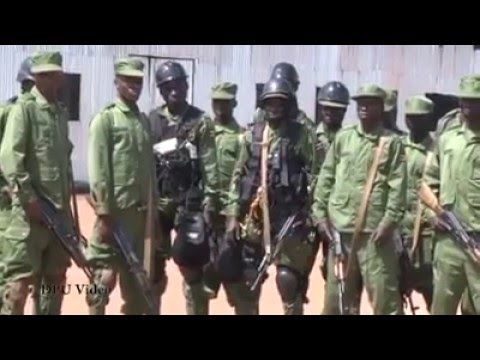 Count terror training and graduation UGANDA