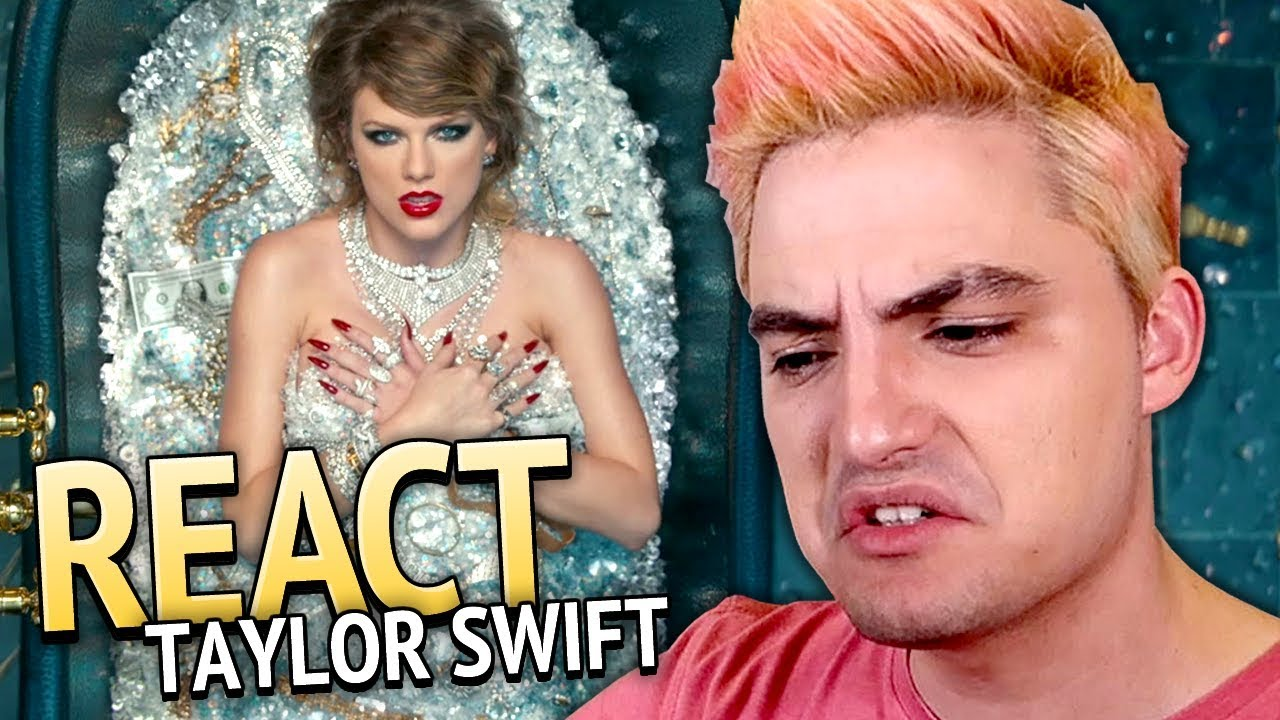 REAGINDO A TAYLOR SWIFT - Look What You Made Me Do [+13]