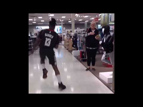 The Josh Innes Show - Harden Impersonator Freaks Out Target Shoppers and It's HILARIOUS [VIDEO]
