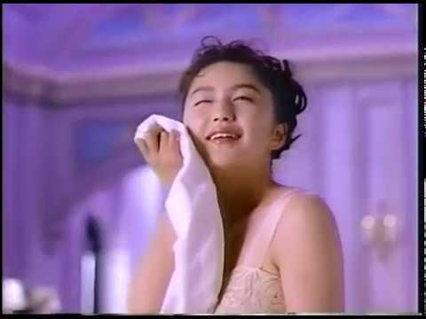 CM 1991 資生堂 She's メーク・クレンジングミルク 越智静香