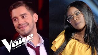 Louise Attaque (J't'emmène) | Karolyn vs Edouard Edouard | The Voice France 2018 | Duels