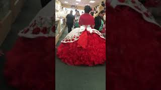 Most beautiful mexican quincenera dress