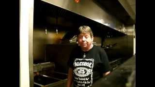 Segment #1-rev. Robert Ashley Beagle Demonstrates Proper Fryer Vat Cleaning At Funnybone/ Segment #1