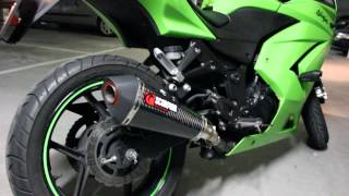 scorpion serket carbono conico ninja 250r