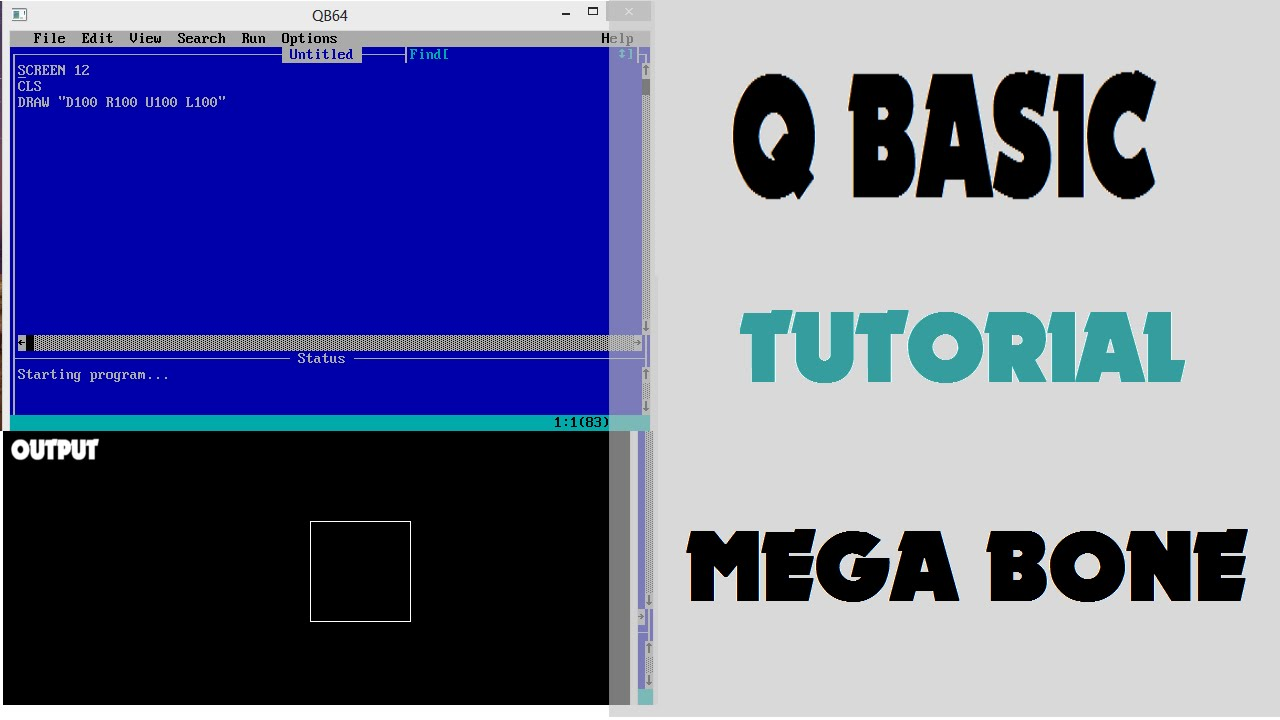 QBasic Tutorial for Kids Part 1