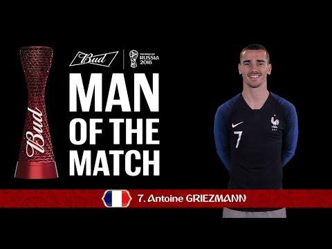 Antoine Griezmann (France) - Man Of The Match - MATCH 5