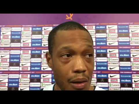 Anthony Randolph after the championship game