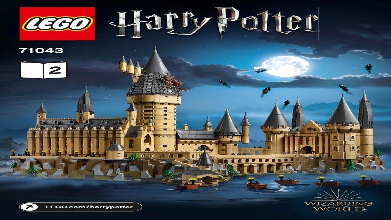 Lego Instructions Harry Potter 71043 Hogwarts Castle Book 2