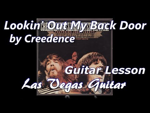 Lookin' Out My Back Door By Creedence Clearwater Revival Guitar Lesson
