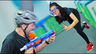 NERF Sharks & Minnows Challenge! [Ep. 2]