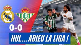 LE REAL MADRID DIT ADIEU À LA LIGA ! C'EST FINI ! DÉGOUTÉ ! REAL MADRID 0 0 BETIS SEVILLE ! ISCO OUT