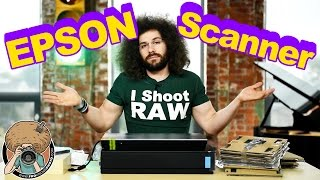 """Is the EPSON V850 The """"Best Photo Scanner"""" For Old Negatives and Slides: Postman FRO Unboxing"""
