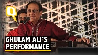 Watch Pak Ghazal Singer Ghulam Ali's Performance in Kolkata