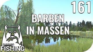 RUSSIAN FISHING 4 #161 - BARBEN IN MASSEN! 🎣 || PantoffelPlays