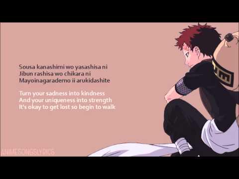 [FULL] Naruto OP 3 -『Kanashimi wo Yasashisa ni』- Original/English