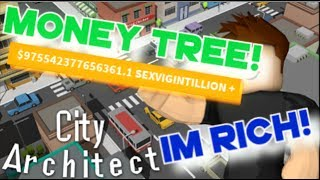 Roblox | City Architect - Buying MONEY TREE! IM SO RICH!