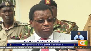 Kavuludi says officers not resigning over pay cut