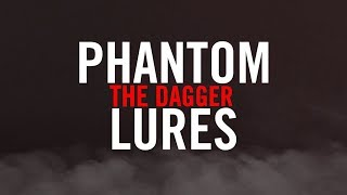 "Phantom Lures ""Dagger"" Series Crankbaits - Underwater Action"