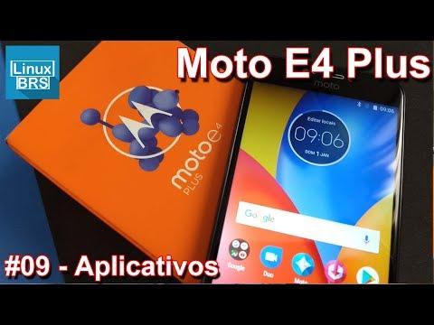 Motorola Moto E4 Plus - Aplicativos