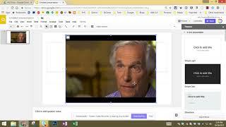 Cropping Video on G๐ogle Slides