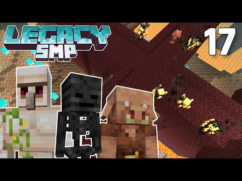 Starting the Mega Nether Base - Legacy SMP #17 (Multiplayer Let's Play) | Minecraft 1.16