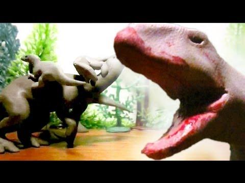 Fredz Jurassic Fight Club Claymation Style...